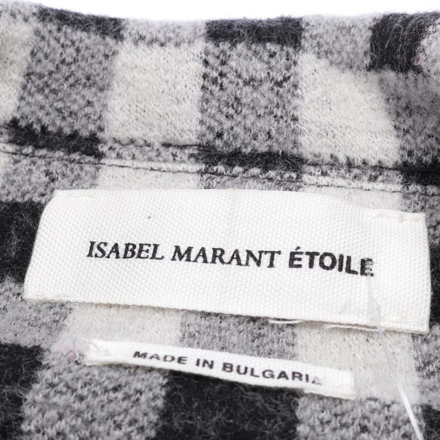 Übergangsjacke von Isabel Marant Étoile in Offwhite und Schwarz Gr. 38 FR 40