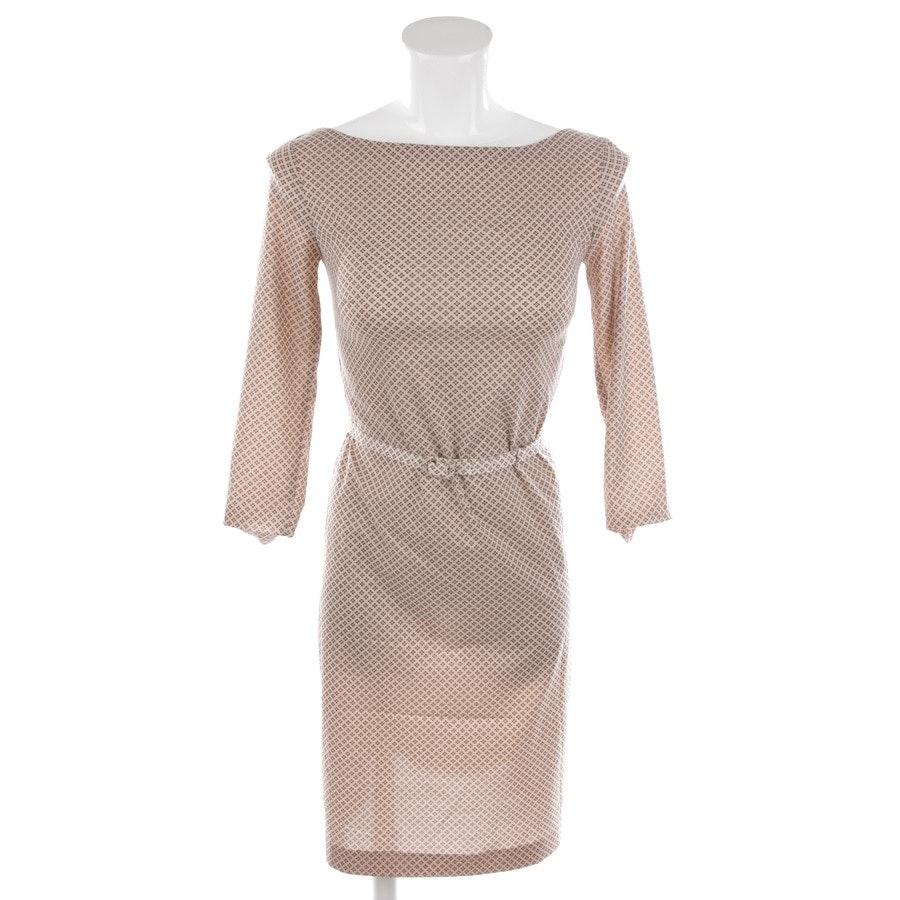 Kleid von Prada in Beige und Braun Gr. 30 IT 36