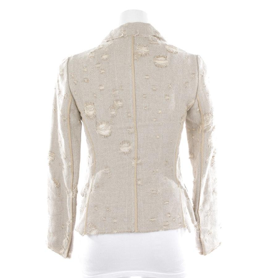 blazer from Prada in beige size 34 IT 40