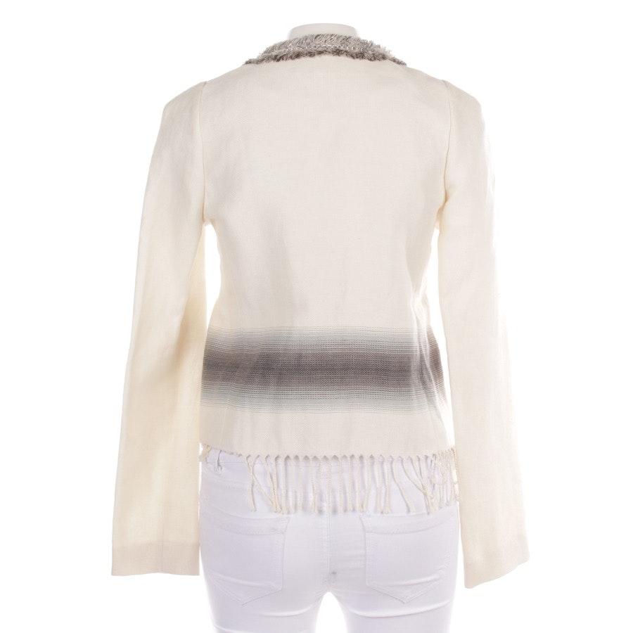 Übergangsjacke von Patrizia Pepe in Off White und Mehrfarbig Gr. DE 36 IT 42