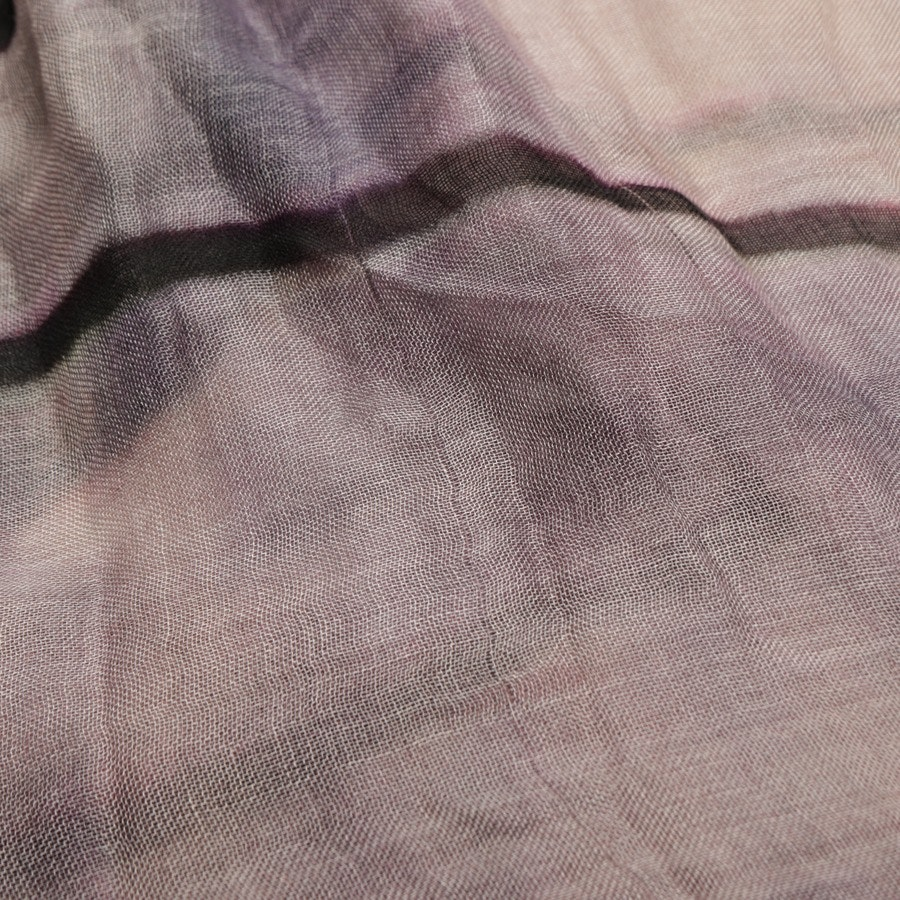 scarf from Faliero Sarti in brown and purple