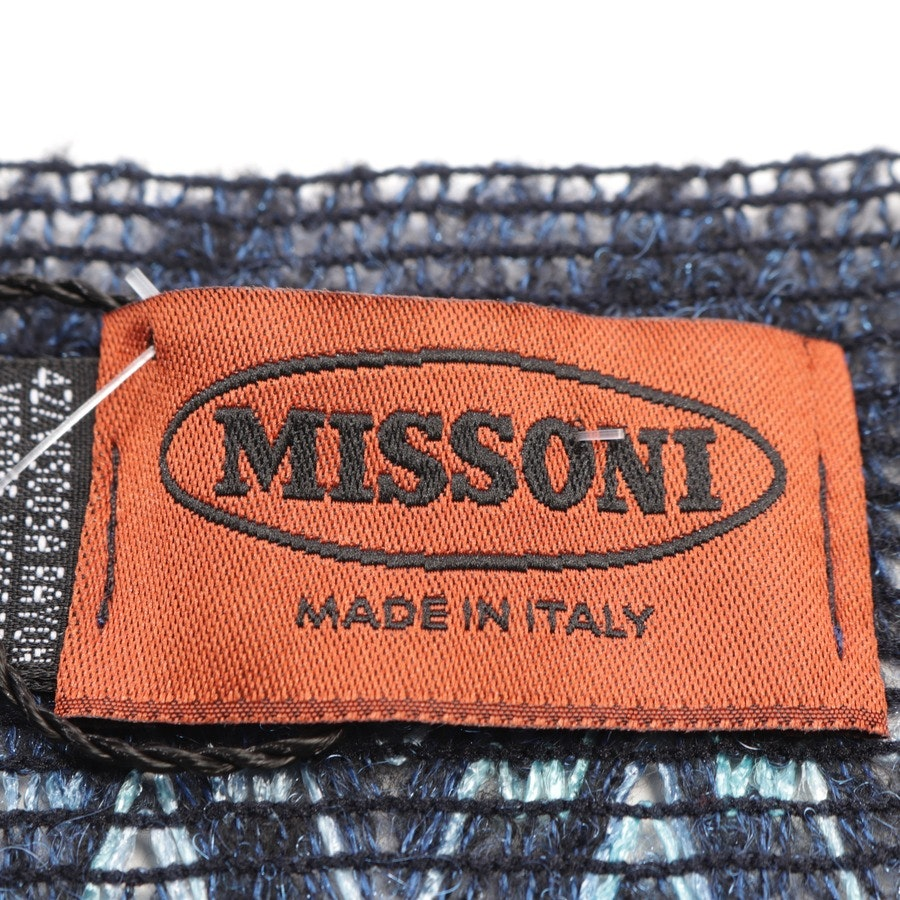 scarf from Missoni in blue - new