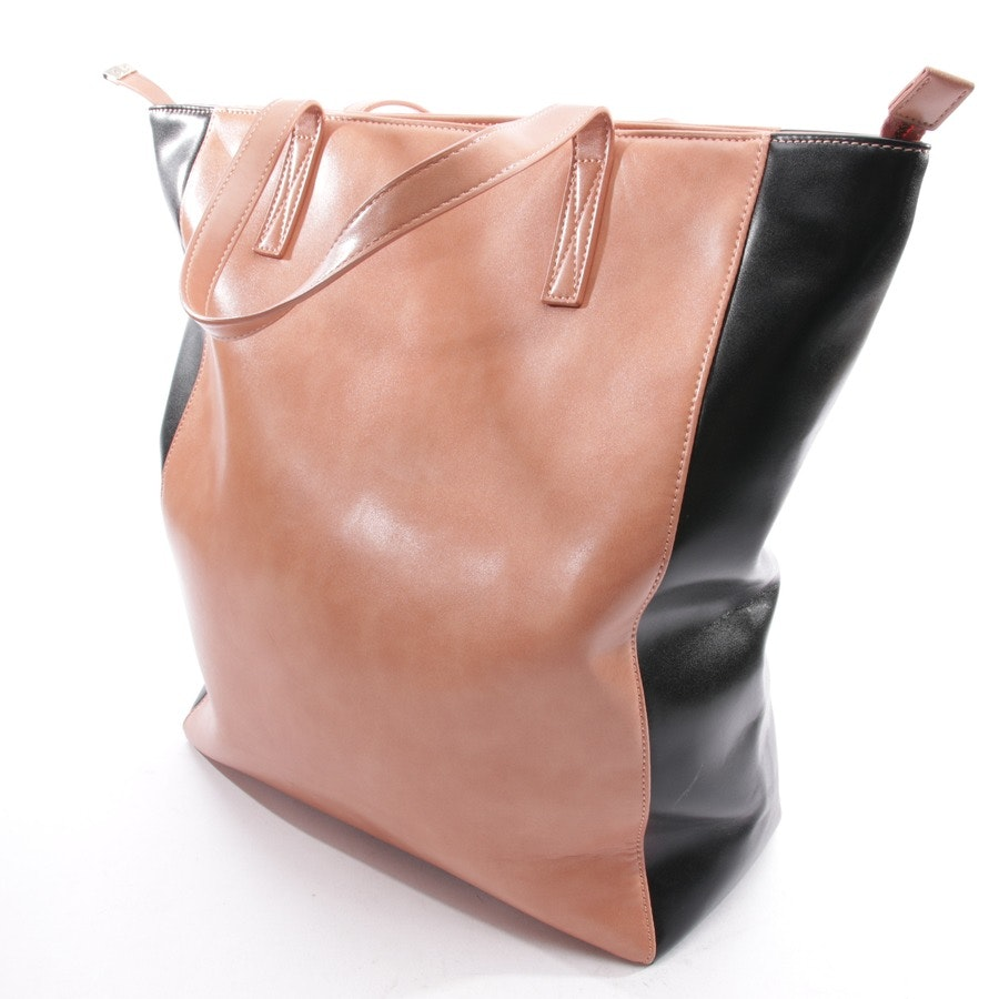 shopper from Stefanel in powder and black