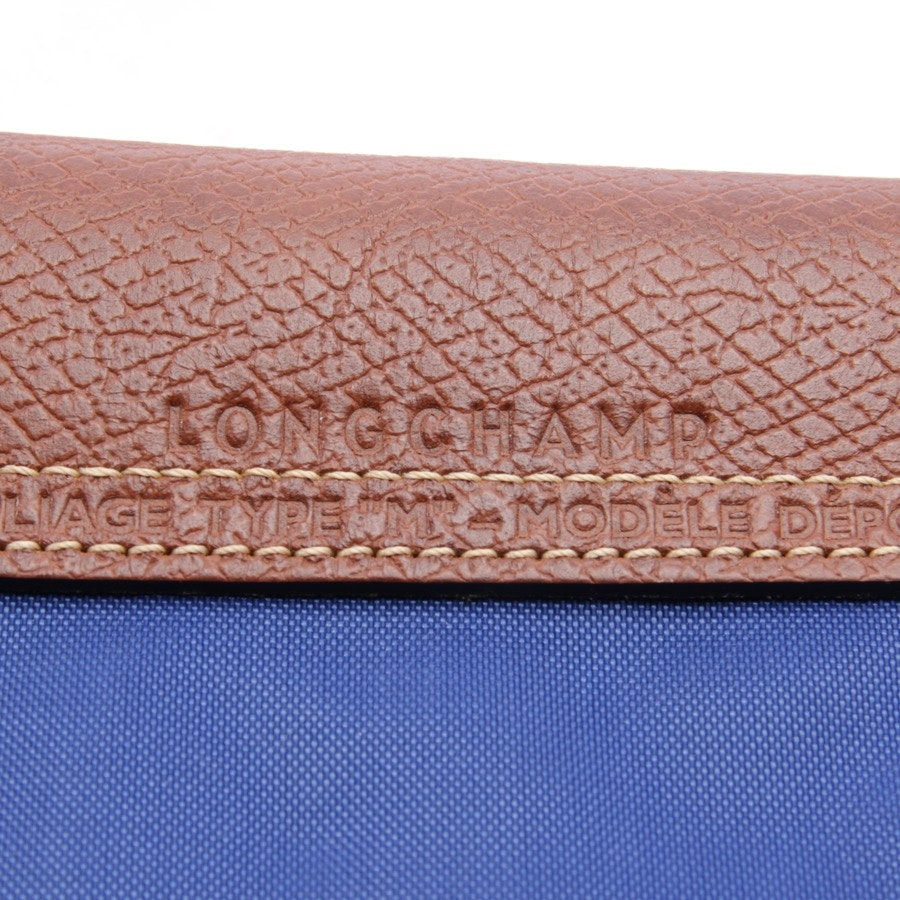 handbag from Longchamp in blue - le pliage m