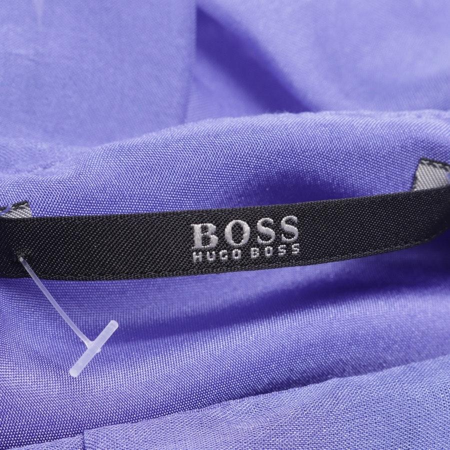 Seidenkleid von Hugo Boss Black Label in Blau Gr. 38