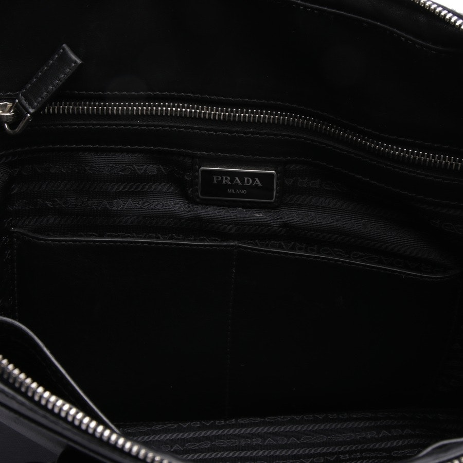 handbag from Prada in black and blue