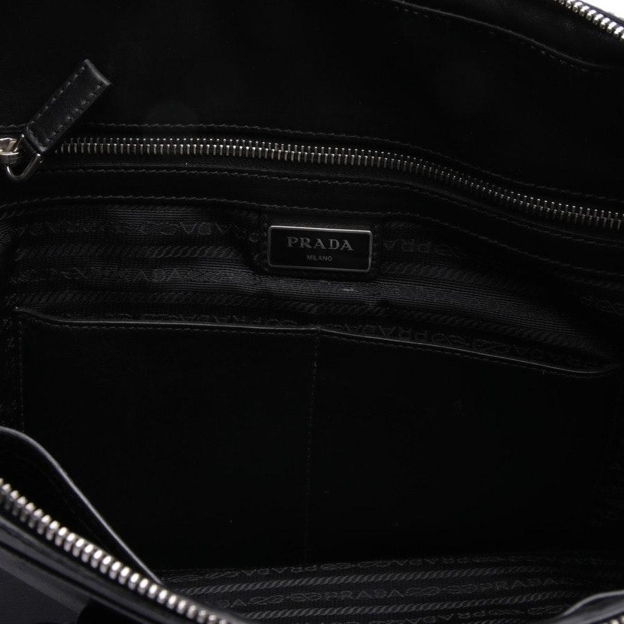 Aktentasche von Prada in Schwarz und Blau