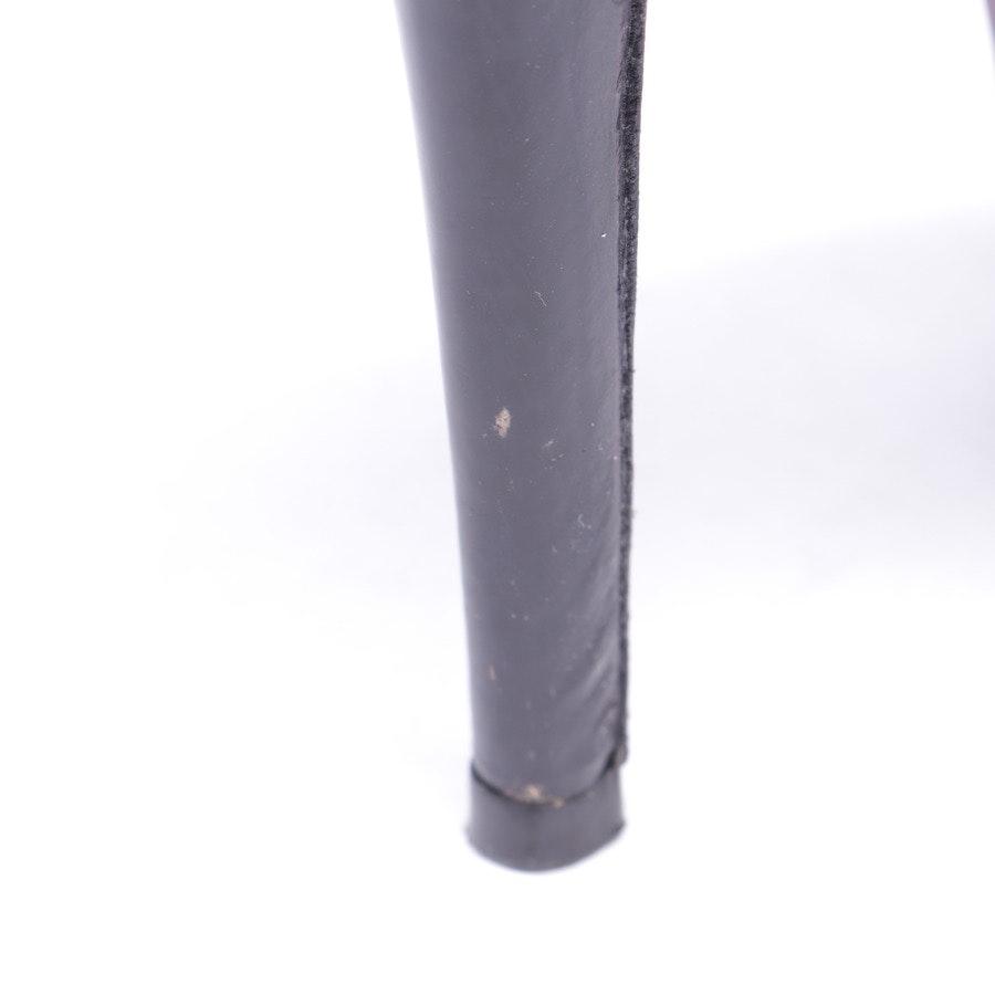 Sandaletten von Barbara Bui in Schwarz und Silber Gr. D 37,5