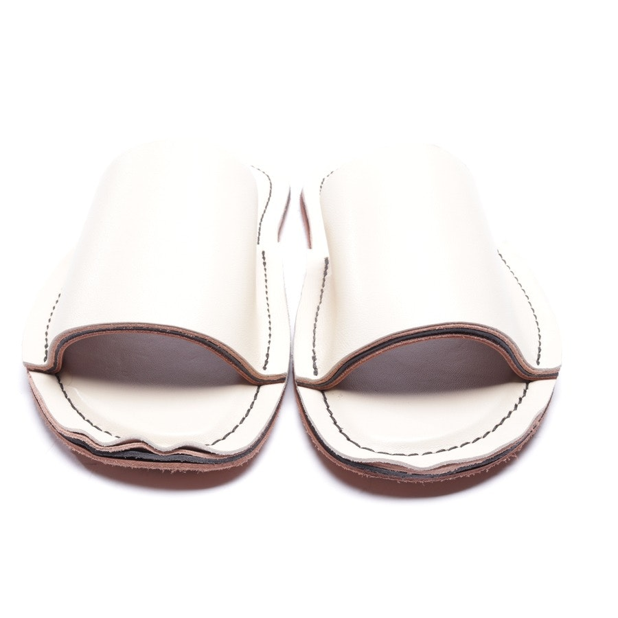 flat sandals from Marni in ivory (ivory) size D 37,5 - new