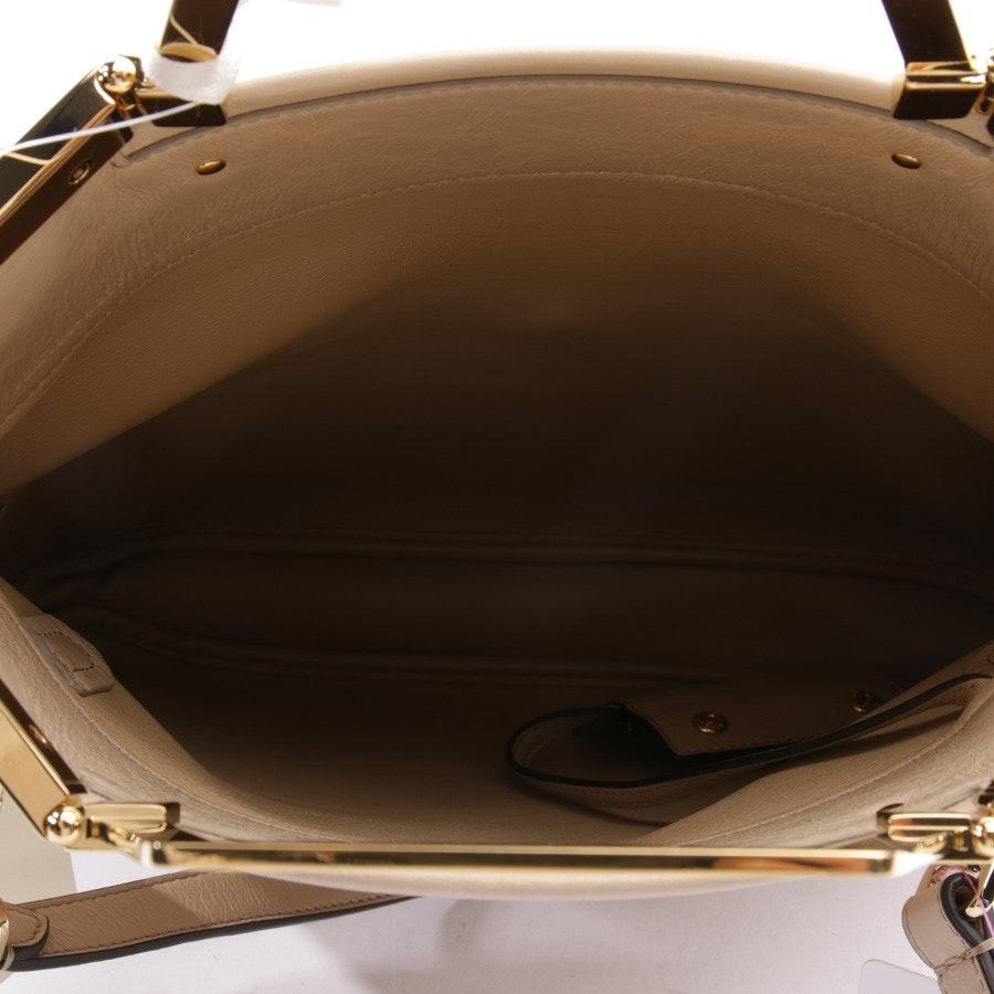 Handtasche von Fendi in Beige - Shopping Flap Small - Neu