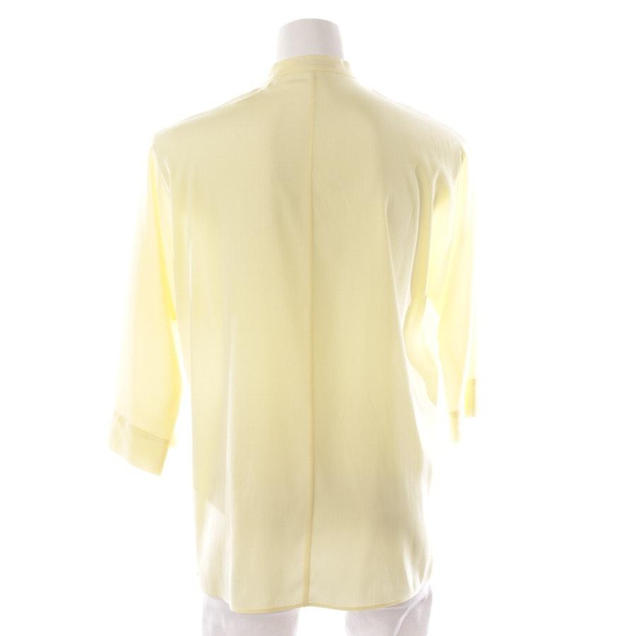 Bluse von Strenesse in Pastellgelb Gr. L