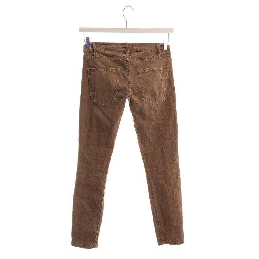 Jeans von Current/Elliott in Braun Gr. W24 - The Crop Skinny