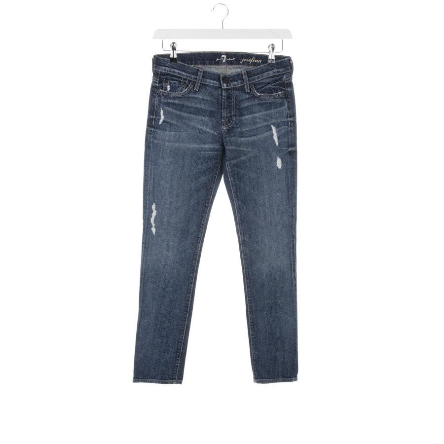Jeans von 7 for all mankind in Blau Gr. 26