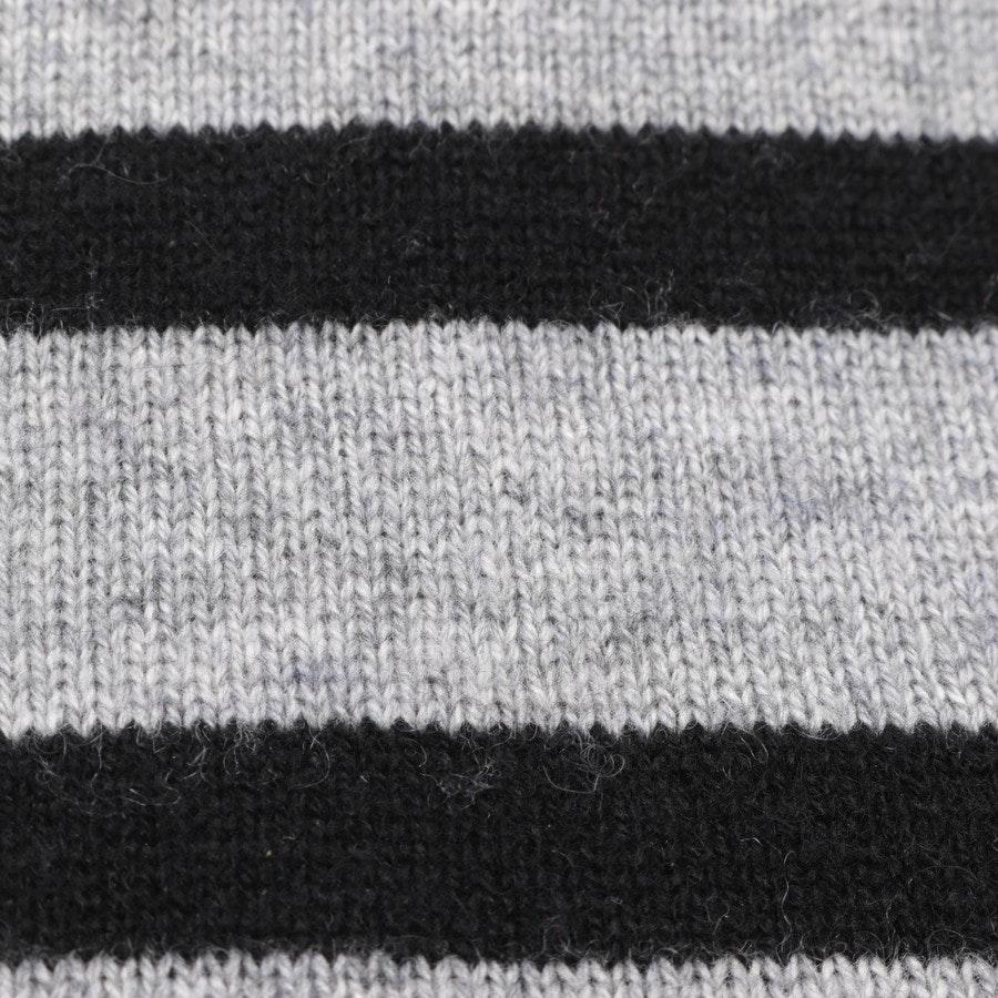 Pullover von FTC Cashmere in Grau meliert und Schwarz Gr. XS