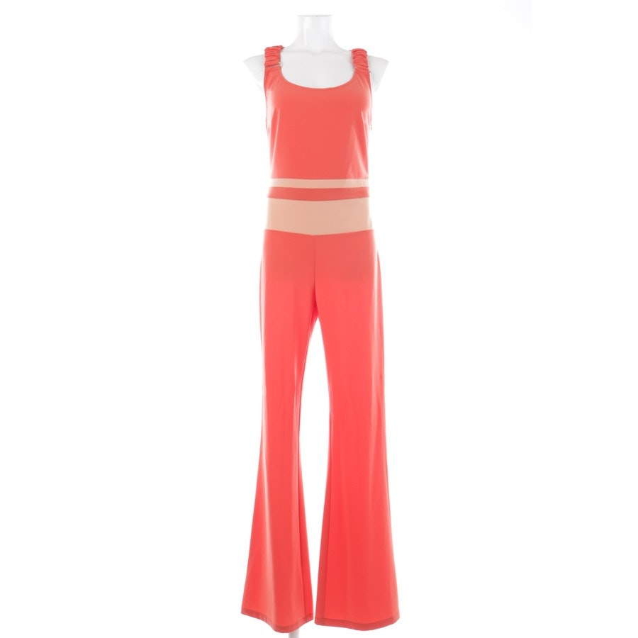 jumpsuit from Patrizia Pepe in orange and beige size 36 IT 42