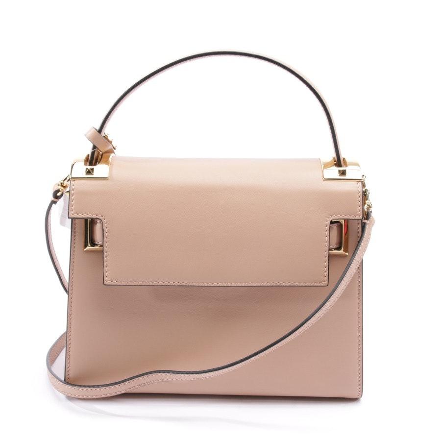 shoulder bag from Valentino in beige - rockstud