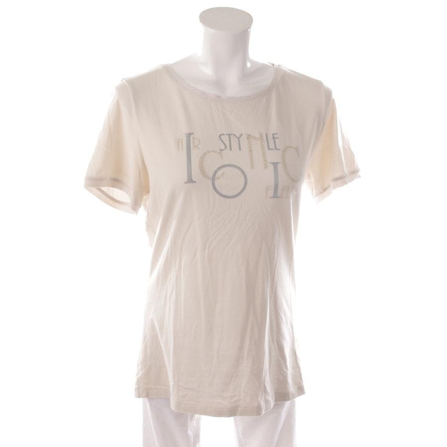 Shirt von Airfield in Creme und Silber Gr. 42