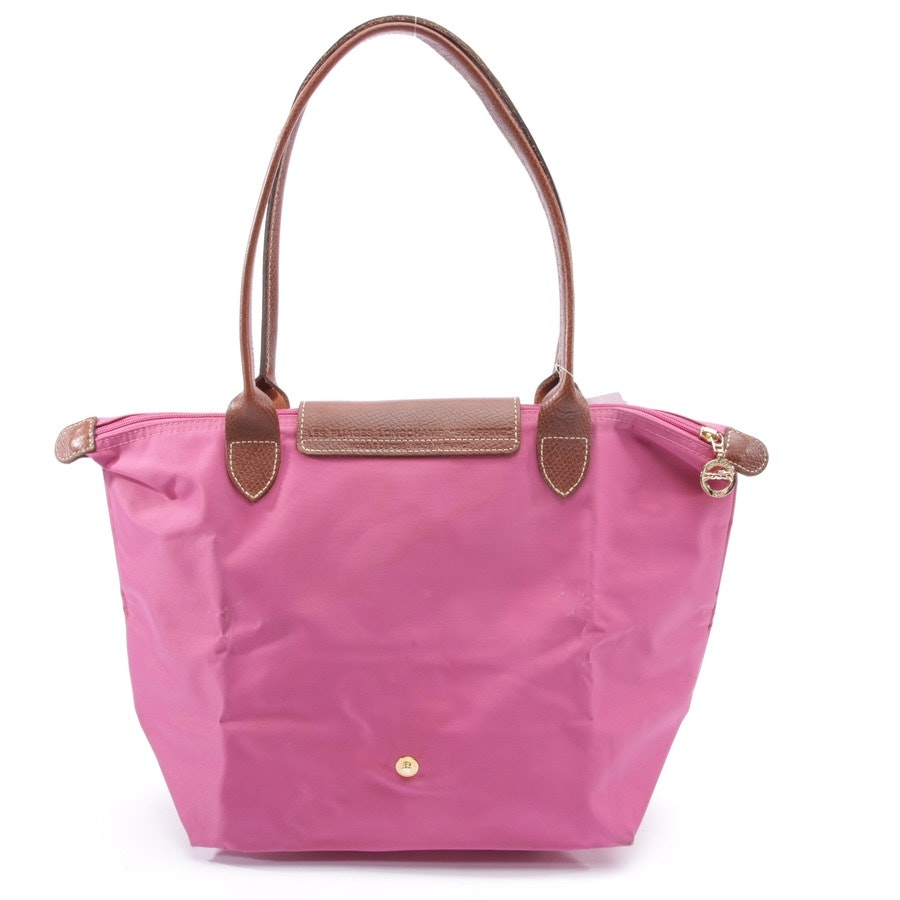 handbag from Longchamp in fuchsia - le pliage shopping s