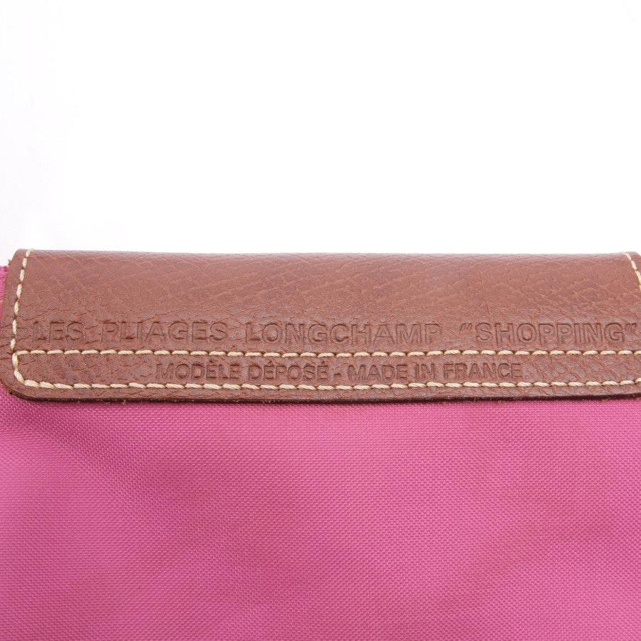 Handtasche von Longchamp in Fuchsia - Le Pliage Shopping S