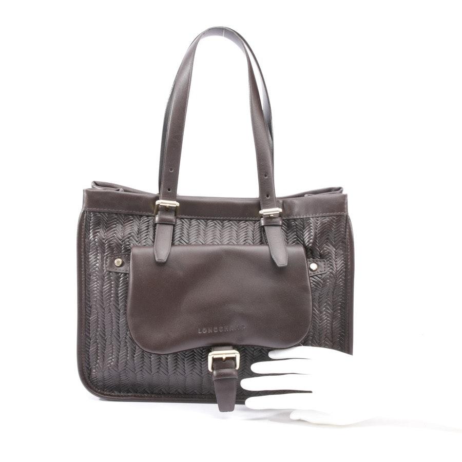 handbag from Longchamp in brown