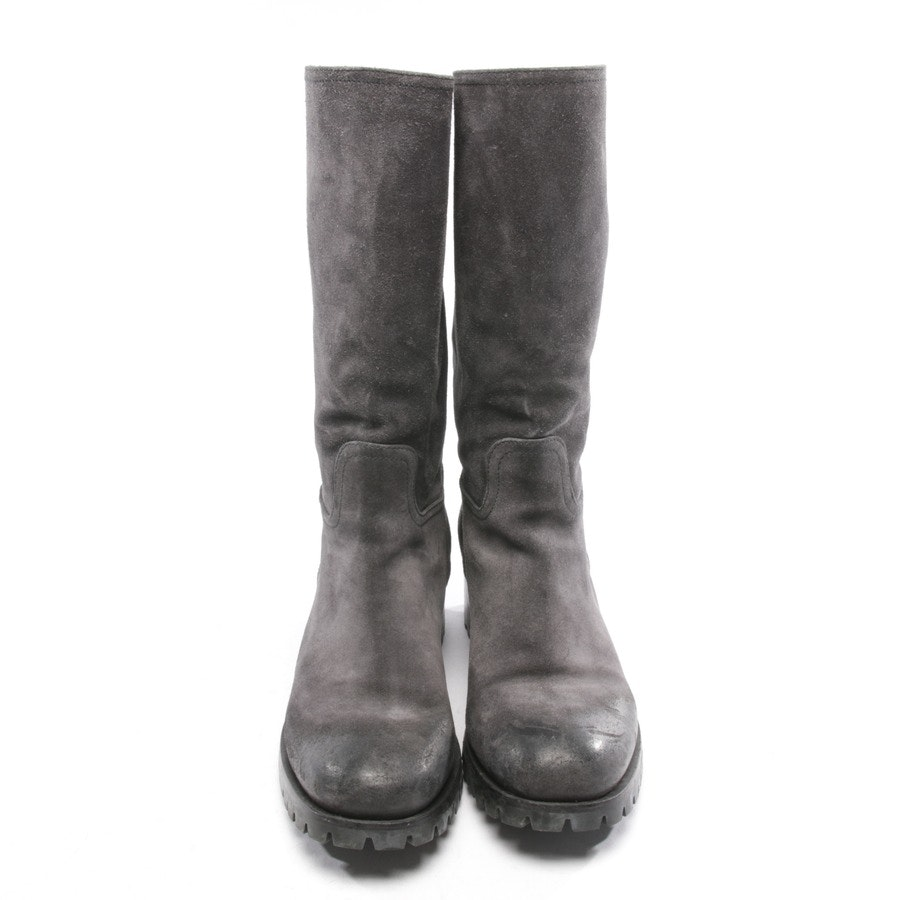boots from Prada in anthracite size EUR 38,5