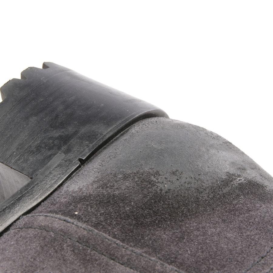 Stiefel von Prada in Anthrazit Gr. EUR 38,5