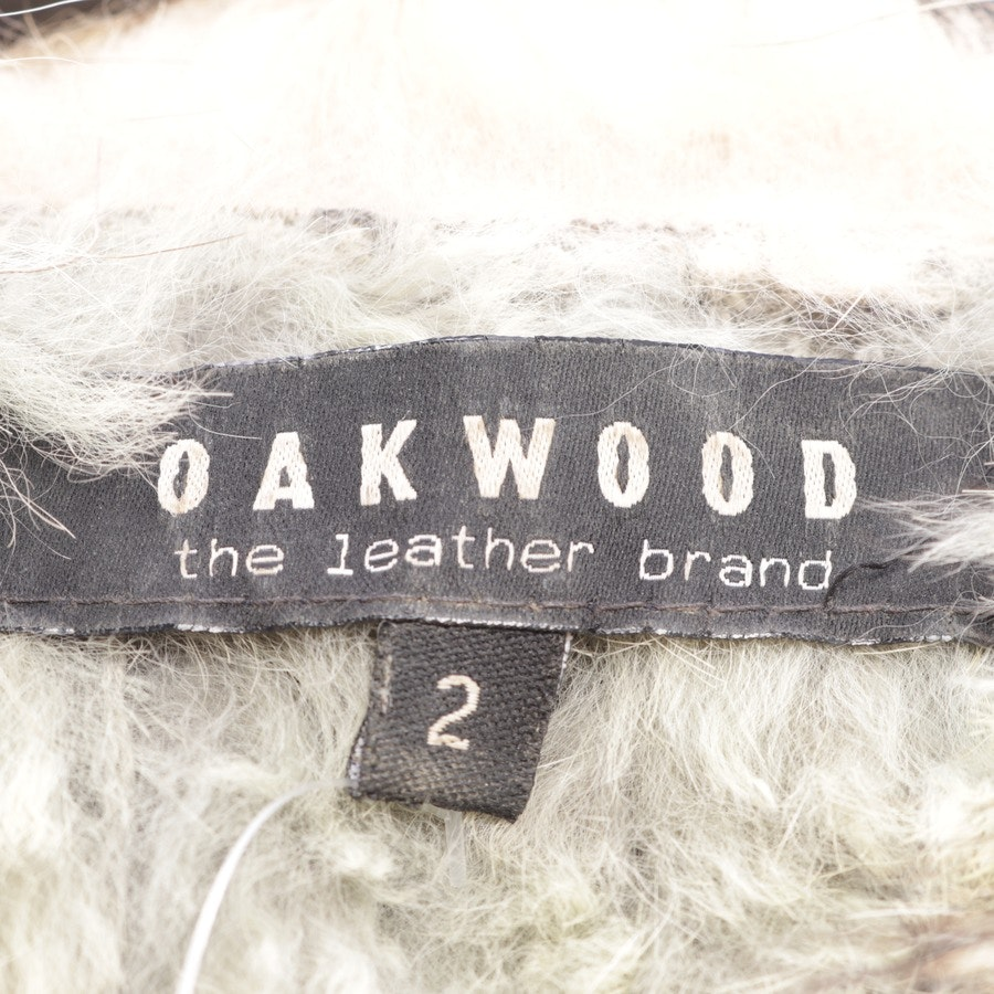 waistcoat from Oakwood in grey and brown size 36