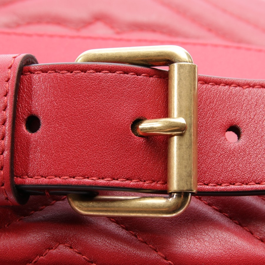 evening bags from Gucci in red - marmont velvet belt bag