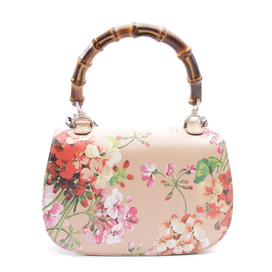 handbag from Gucci in beige pink and multi-coloured - classic blooms - new