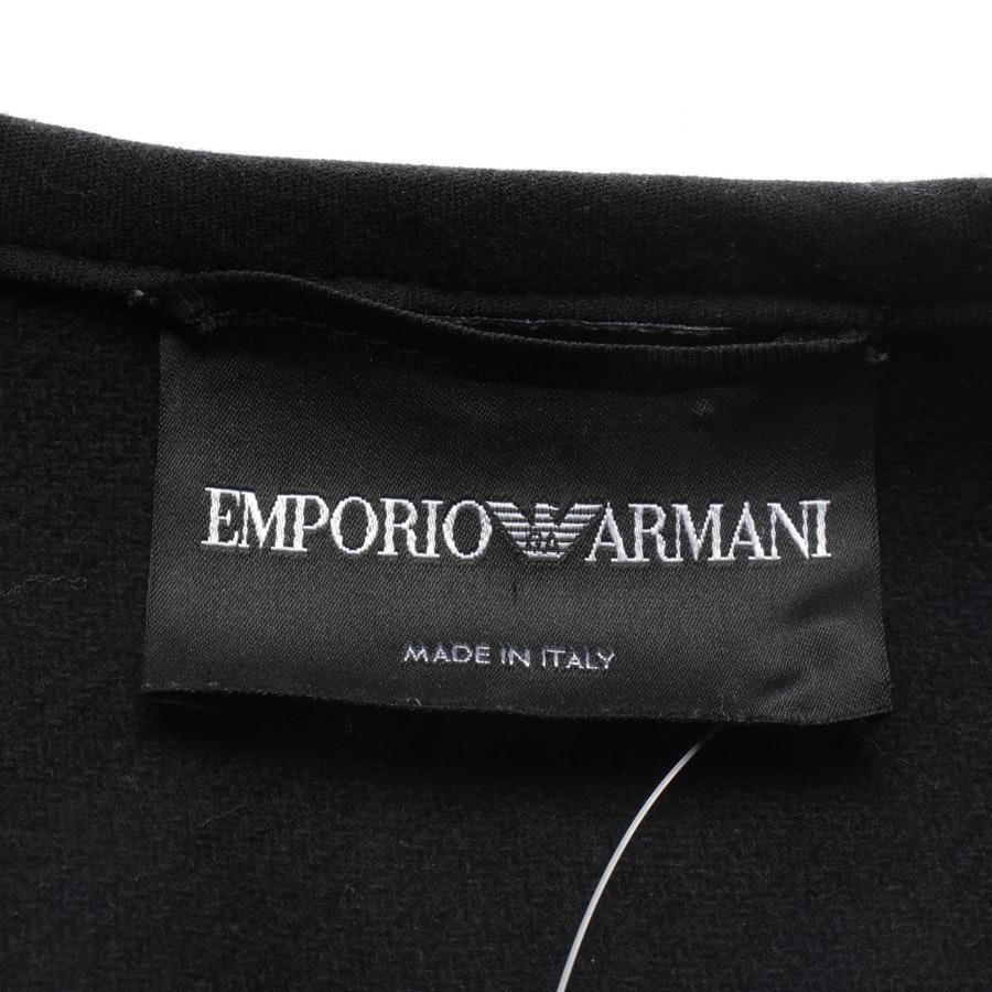 Mantel von Emporio Armani in Schwarz Gr. 38 IT 44