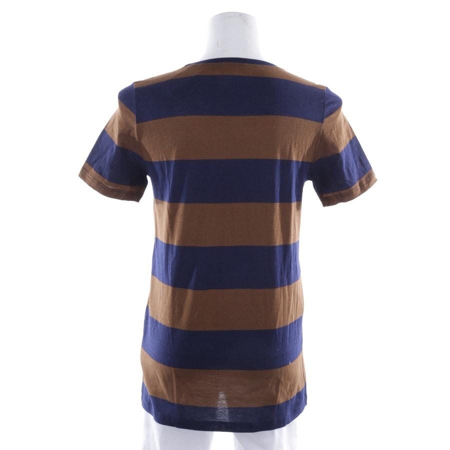 Shirt von Burberry Prorsum in Dunkelblau und Braun Gr. S