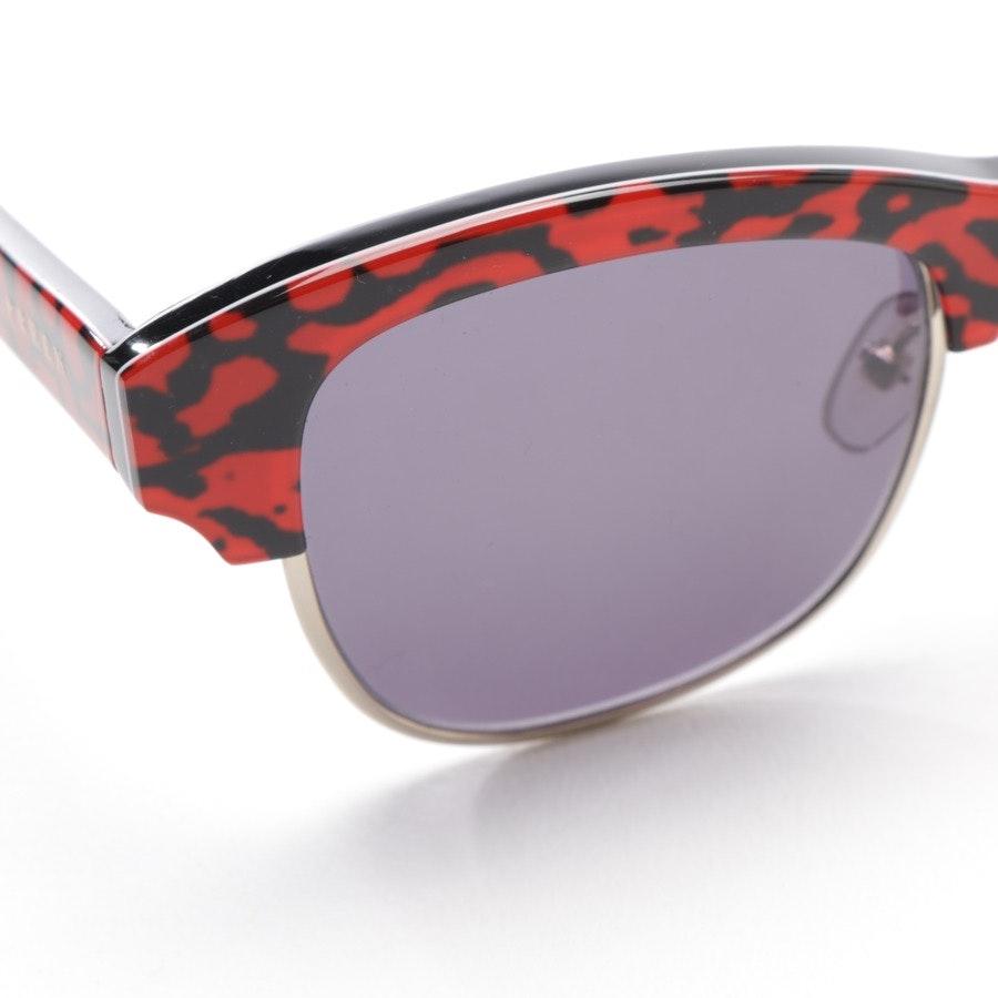 Sonnenbrille von Preen By Thornton Bregazzi in Schwarz und Rot - Patchy
