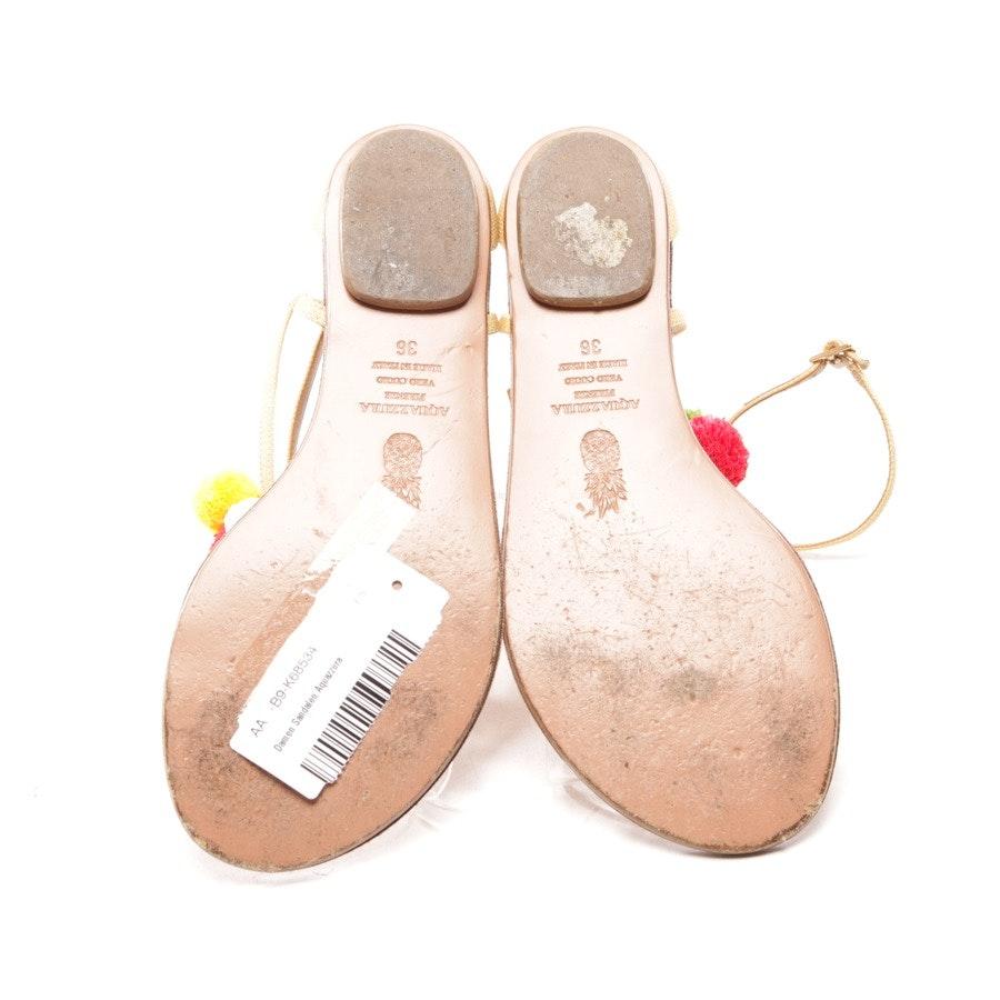 Sandalen von Aquazzura in Beige Gr. D 36