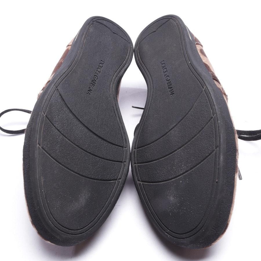 Sneaker von Dolce & Gabbana in Braun Gr. D 37