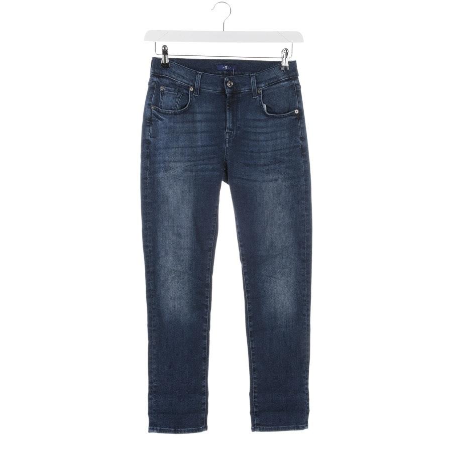 Jeans von 7 for all mankind in Blau Gr. W24
