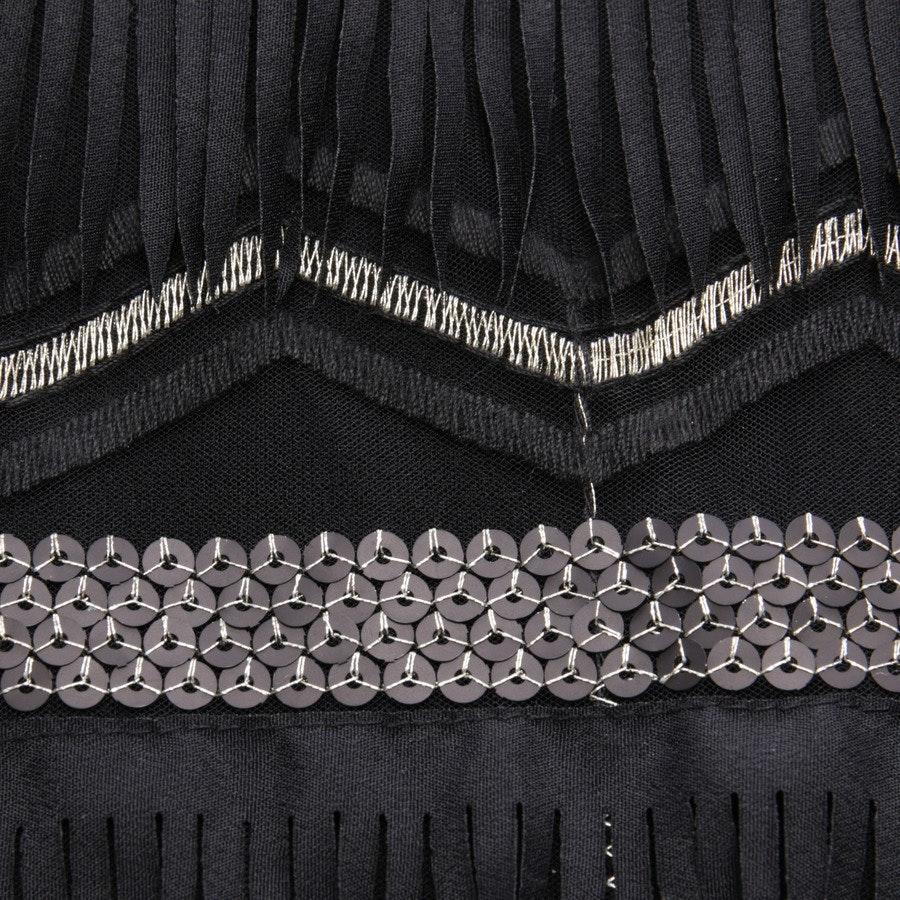 Kleid von Patrizia Pepe in Schwarz und Gold Gr. 32 IT 38