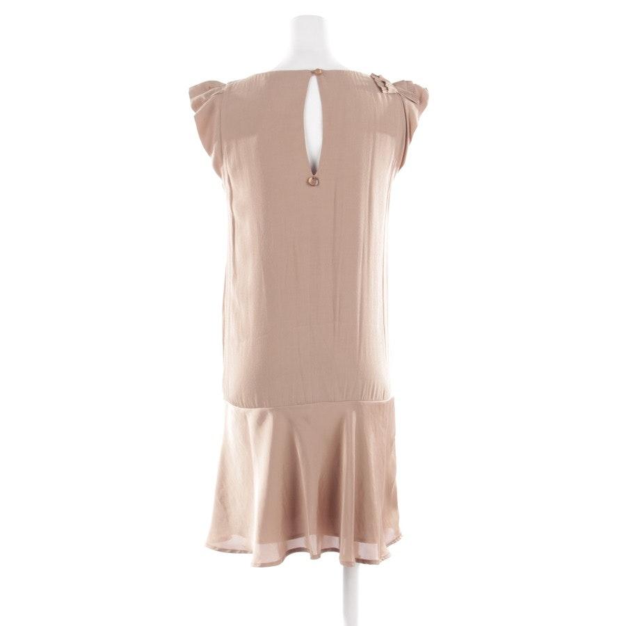 Kleid von Twin Set in Beigebraun Gr. XS
