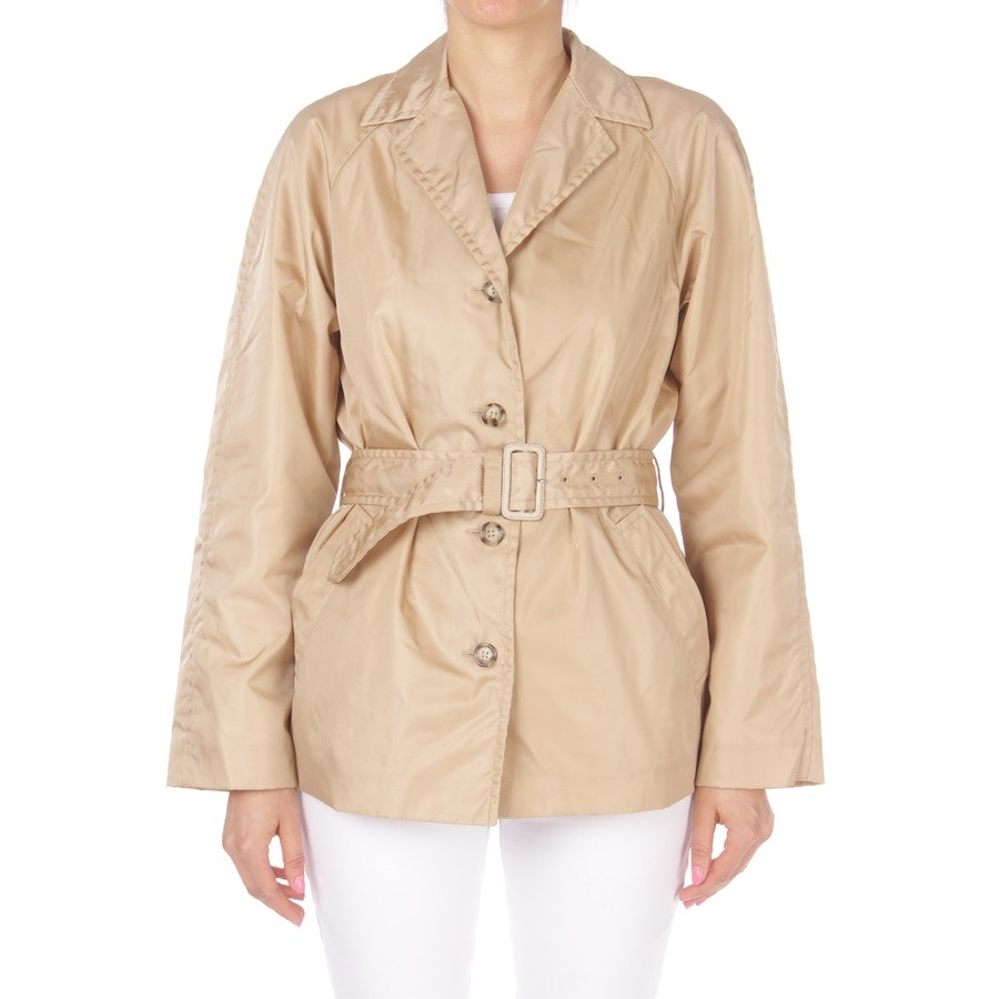 summer jackets from Prada in beige size DE 36 IT 42