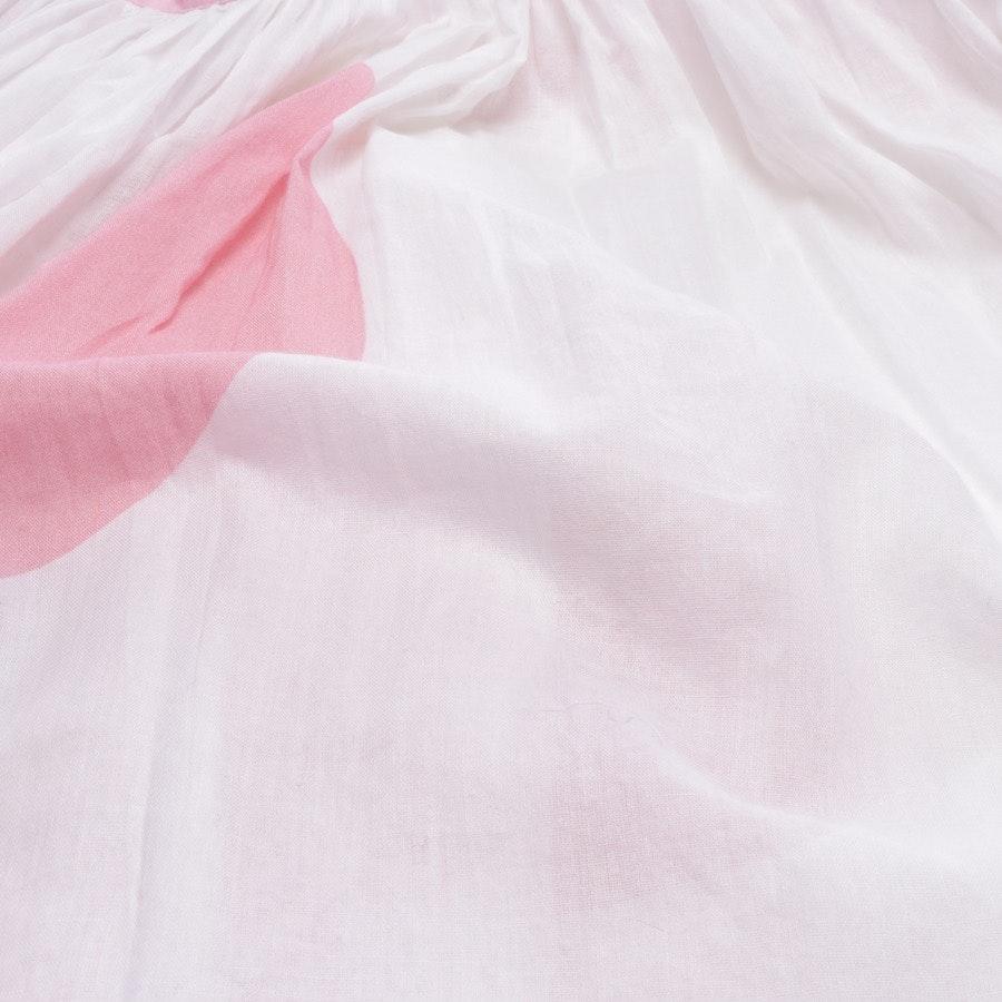 Kleid von Alexandra Miro in Weiß und Pink Gr. S - Neu