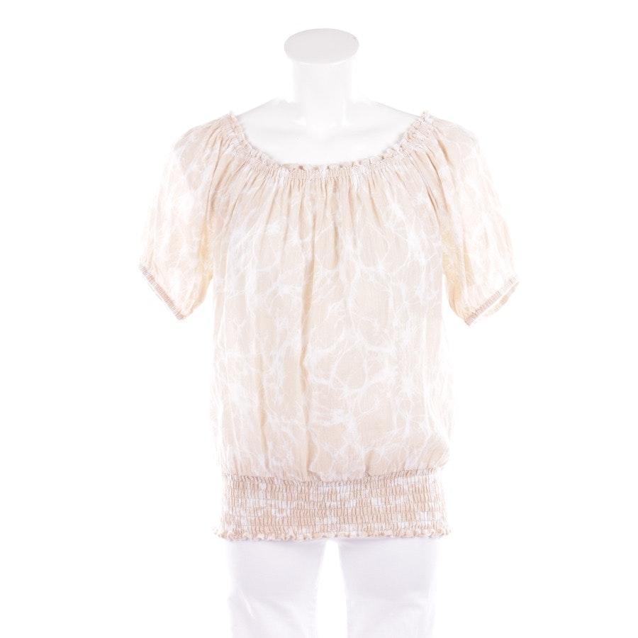 Shirt von Michael Kors in Beige und Weiß Gr. M