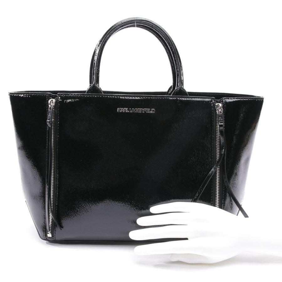 Shopper von Karl Lagerfeld in Schwarz