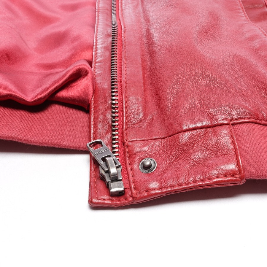 leather jacket from Tigha in red size M