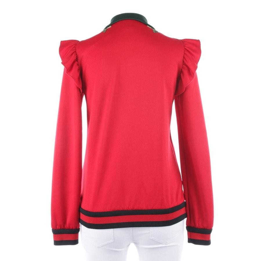 Sweatjacke von Gucci in Rot Gr. S