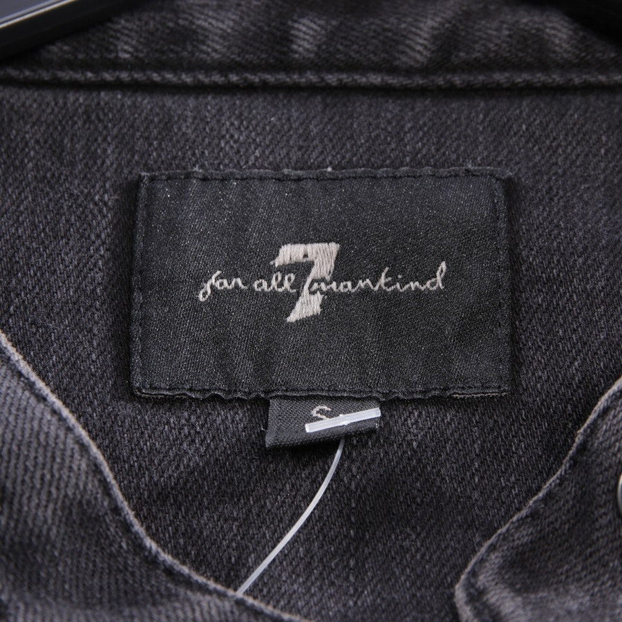 between-seasons jackets from 7 for all mankind in anthracite size S