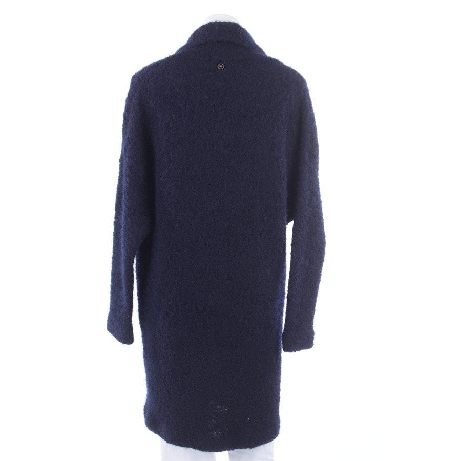 winter coat from IQ Berlin in night blue size DE 36