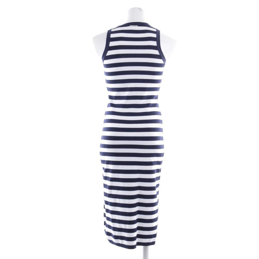 Kleid von Michael Kors in Blau und Weiß Gr. XS