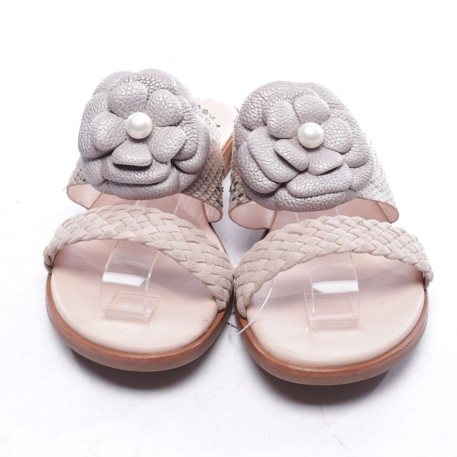 Sandalen von Pertini in Beige Gr. D 37