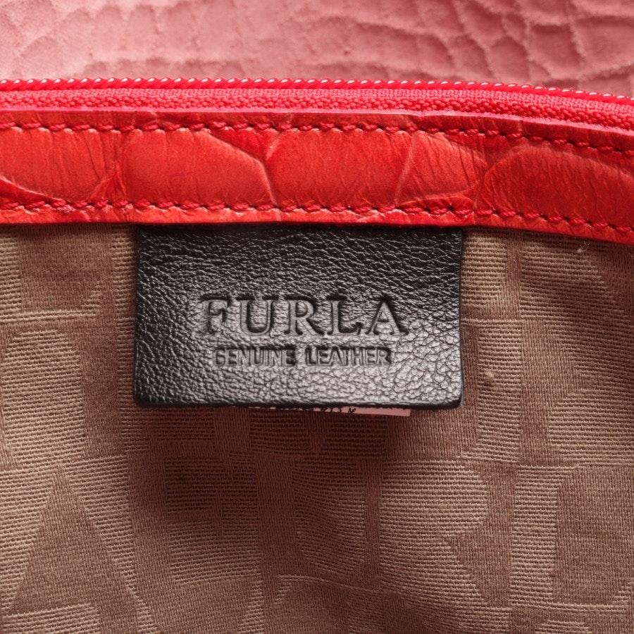 Handtasche von Furla in Korallenrot
