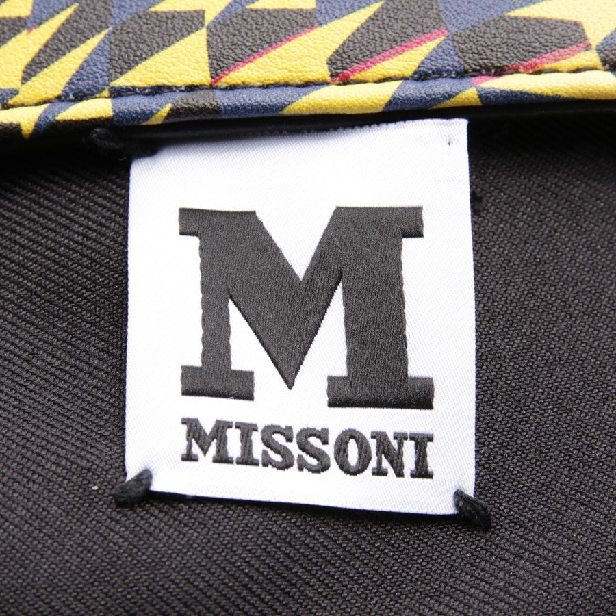 cosmetic bag from Missoni M in yellow and multicolor - new