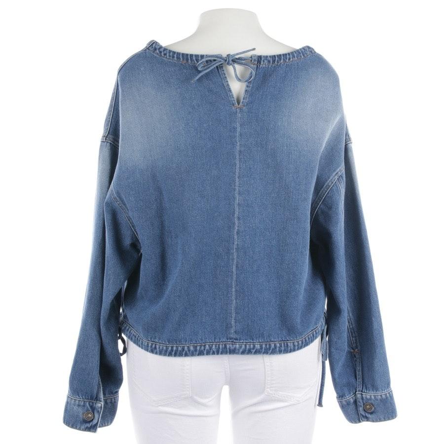 Jeansbluse von Kenzo in Mittelblau Gr. 38 FR 40